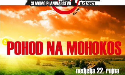 Planinarski klub Extrem organizira pohod na Mohokos 2019.