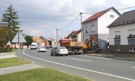 Počela nova faza izgradnje pješačke staze u Čakovečkoj ulici