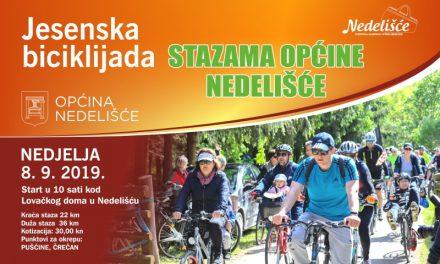"""U nedjelju jesenska biciklijada """"Stazama općine Nedelišće"""""""