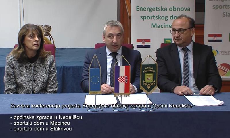 Završne konferencije projekata energetske obnove Općine Nedelišće