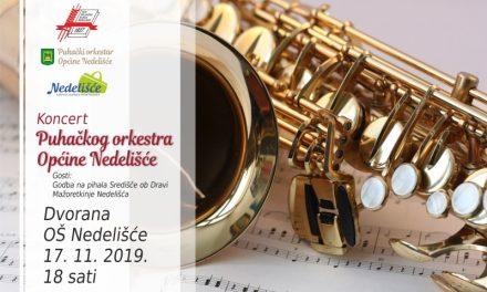 U nedjelju koncert Puhačkog orkestra Općine Nedelišće