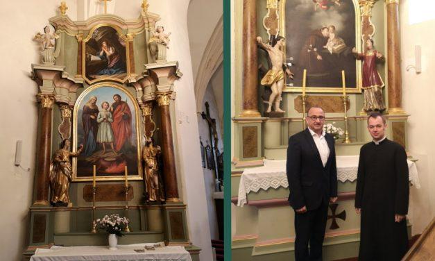 Završila obnova bočnih oltara u crkvi Presvetog Trojstva u Nedelišću
