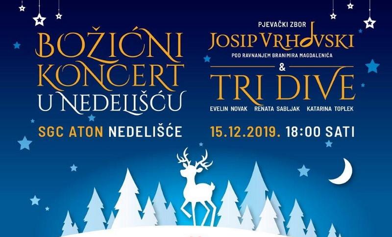 Božićni koncert u Nedelišću – karte u prodaji