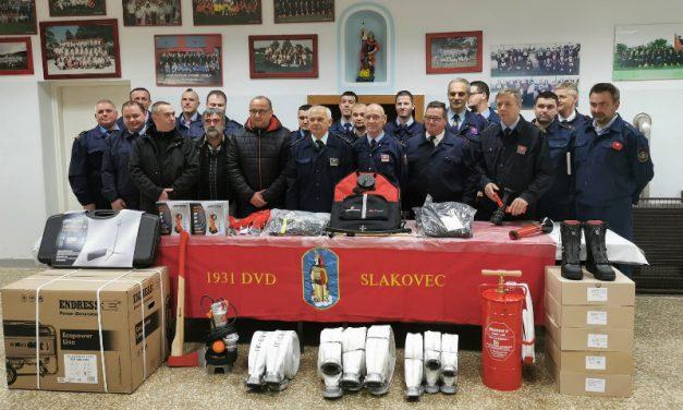 Nova oprema za deset vatrogasnih društava s područja općine Nedelišće