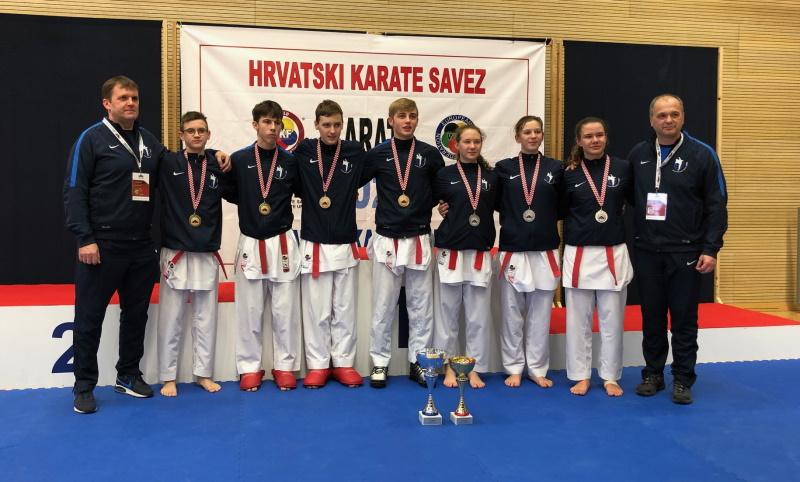 Kadeti Globusa prvaci Hrvatske, kadetkinje viceprvakinje