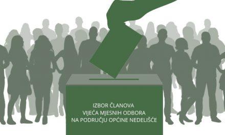 Sadržaj izbornih listića mjesnih odbora u nedjelju
