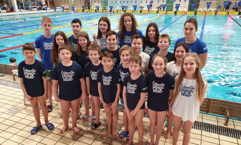 Plivači ČPK-a osvojili 32 medalje na prvenstvu regije