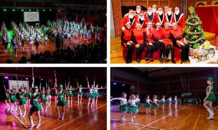 Plesna čarolija Mažoretkinja Nedelišća – oduševljenje za kraj godine