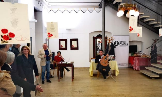 Vladimir Mihaljević Kantor predstavio zbirku pjesama Čudesna