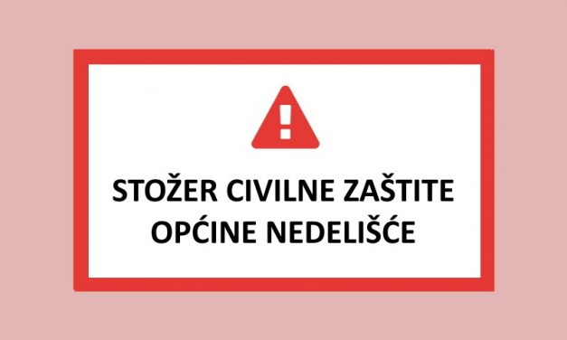 Obavijest Stožera civilne zaštite općine Nedelišće – srijeda 25.3.2020.