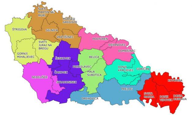DEMOKRŠĆANI: U Međimurju dovoljna tri grada i šest općina