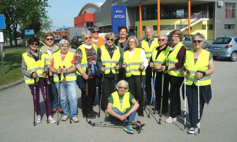 Nordijsko hodanje: Žuti prsluci ponovno na ulicama Nedelišća