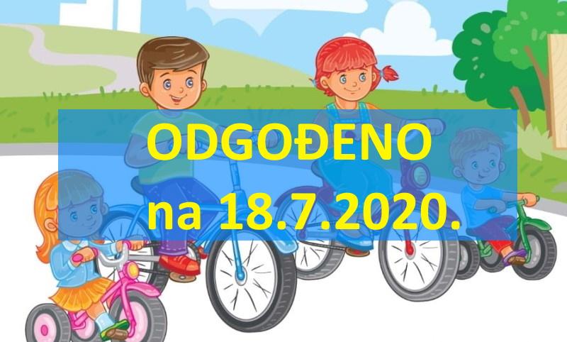 Dječja biciklijada Pretetinec 2020. odgođena za tjedan dana