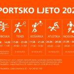 Počinje Sportsko ljeto 2020 za osnovnoškolce