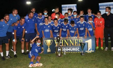 Pobjedom Dinama nad Hajdukom, završio turnir Međimurec U-14 2020.