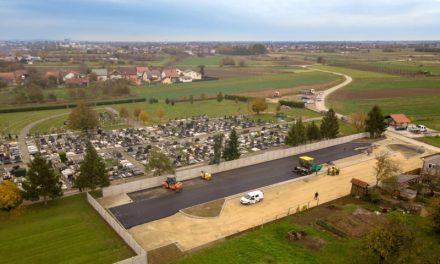 Od subote u funkciji novo parkiralište kod groblja u Nedelišću