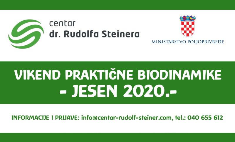 Vikend praktične biodinamike – Jesen 2020.