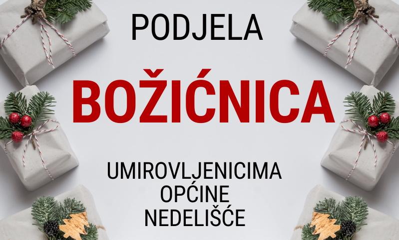 Općina Nedelišće: Božićnice za umirovljenike