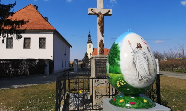 Nedelišće dobilo veliko Uskrsno jaje