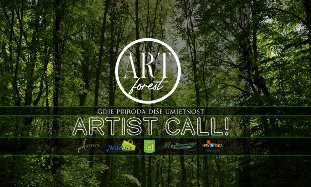 Poziv za prijave na Art forest