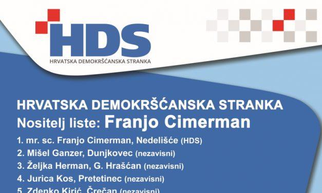 HRVATSKA DEMOKRŠĆANSKA STRANKA: Predstavljanje kandidata i opširnog izbornog programa za općinu Nedelišće