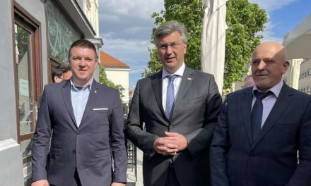 Premijer Plenković podržao kandidaturu Matije Žugeca za načelnika Općine Nedelišće
