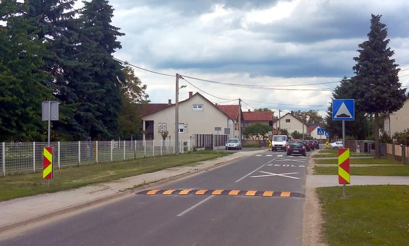 Postavljeni usporivači prometa kod škole u Gornjem Hrašćanu