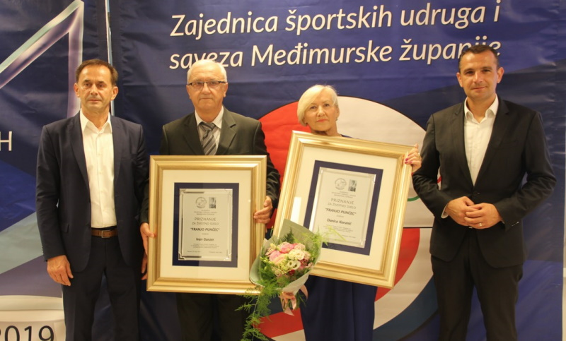 Ivan Ganzer, Dragutin Kedmenec i Danica Korunić dobitnici su priznanja Franjo Punčec