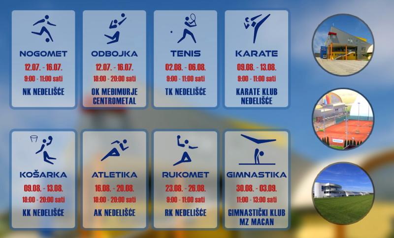 Najava projekta Sportsko ljeto 2021.