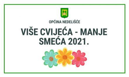 """Akcija """"Više cvijeća – manje smeća 2021."""""""