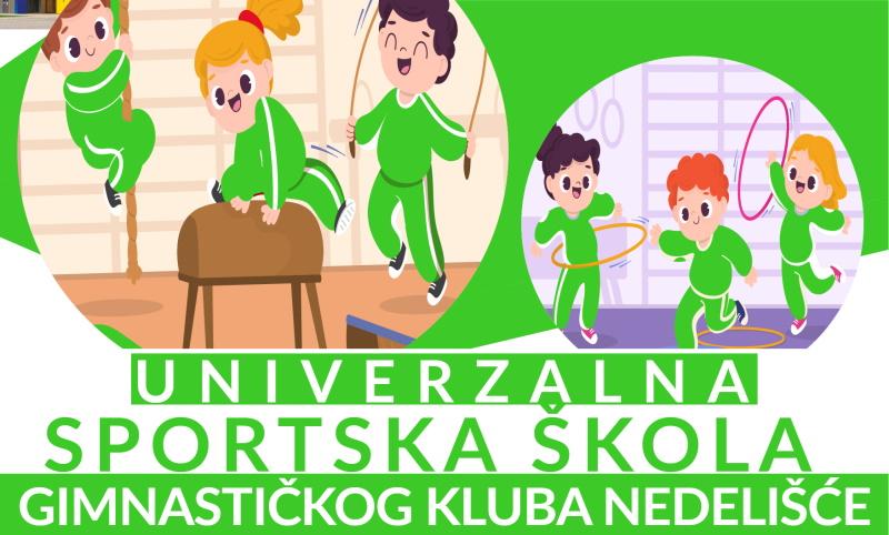 """Osnovan novi gimnastički klub """"Nedelišće"""""""