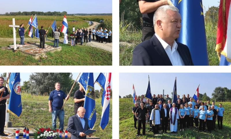 Polaganje vijenaca i molitva kod grobnice žrtava komunističkog režima