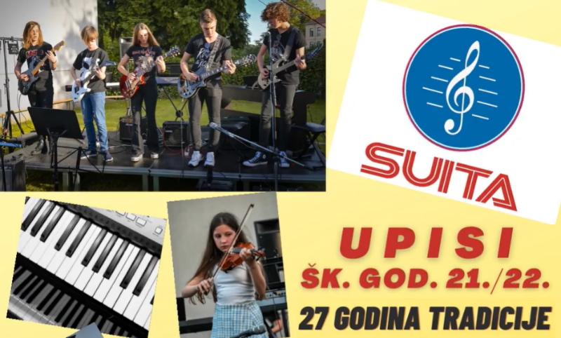 Suita – škola sviranja i pjevanja ima upise u novu školsku godinu