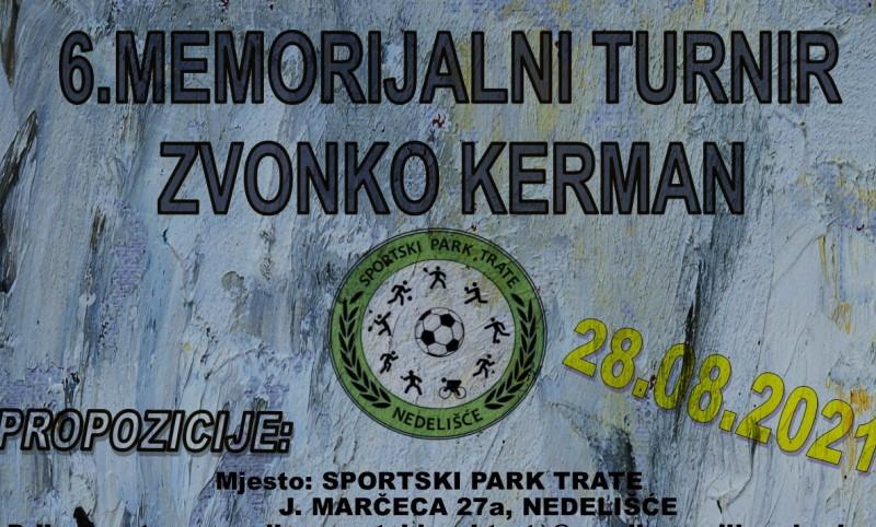 Šesti memorijalni turnir Zvonko Kerman