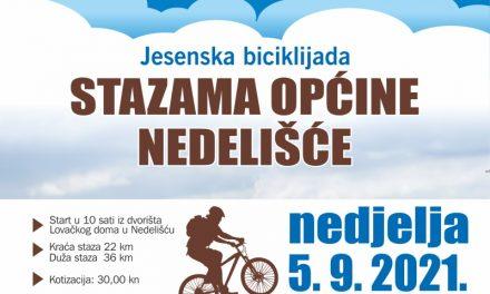"""NAJAVA: Jesenska biciklijada """"Stazama općine Nedelišće"""" uz EU COVID potvrde"""