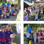 Škola nogometa Međimurec- Sloboda posjetila Dječji vrtić Zvončić Nedelišće