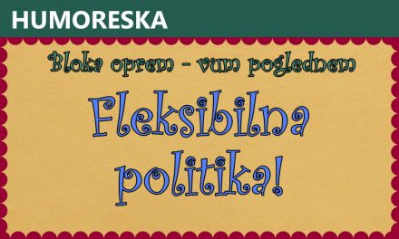 Fleksibilna politika!